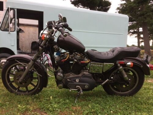 1982 Harley-Davidson Sportster Burgundy with copper metallic for sale